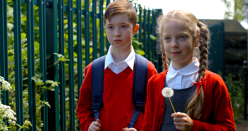Harrison Naz and Sienna Barlow as Harry & Grace